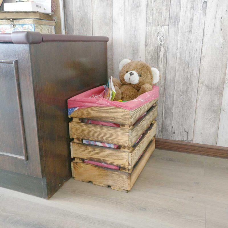 ящик деревянный, тара, обожженный ящик